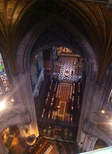 Ely from 142 ft up